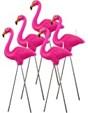 Nuop Design - Pink Flamingo Candles - 5 Candle Pack