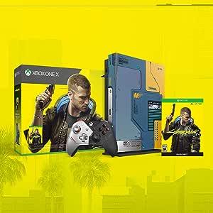 Xbox One X LE Bundle - CyberPunk