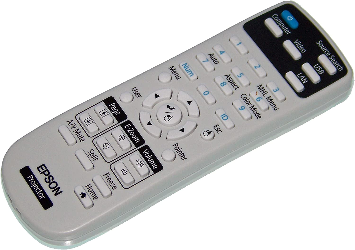 H719A OEM Epson Projector Remote Control Shipped With Epson Models H717A H720A H718A