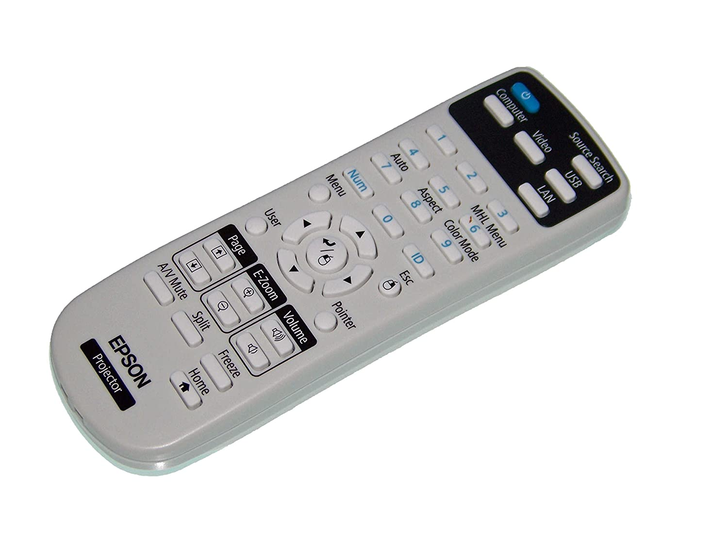 OEM Epson Projector Remote Control Shipped With Epson Models H772A H839A H841A H801A