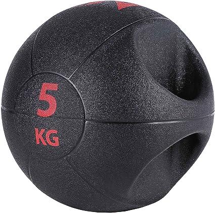 Sfeomi Balón Medicinal de Ejercicio de Peso Balón Medicinal con ...