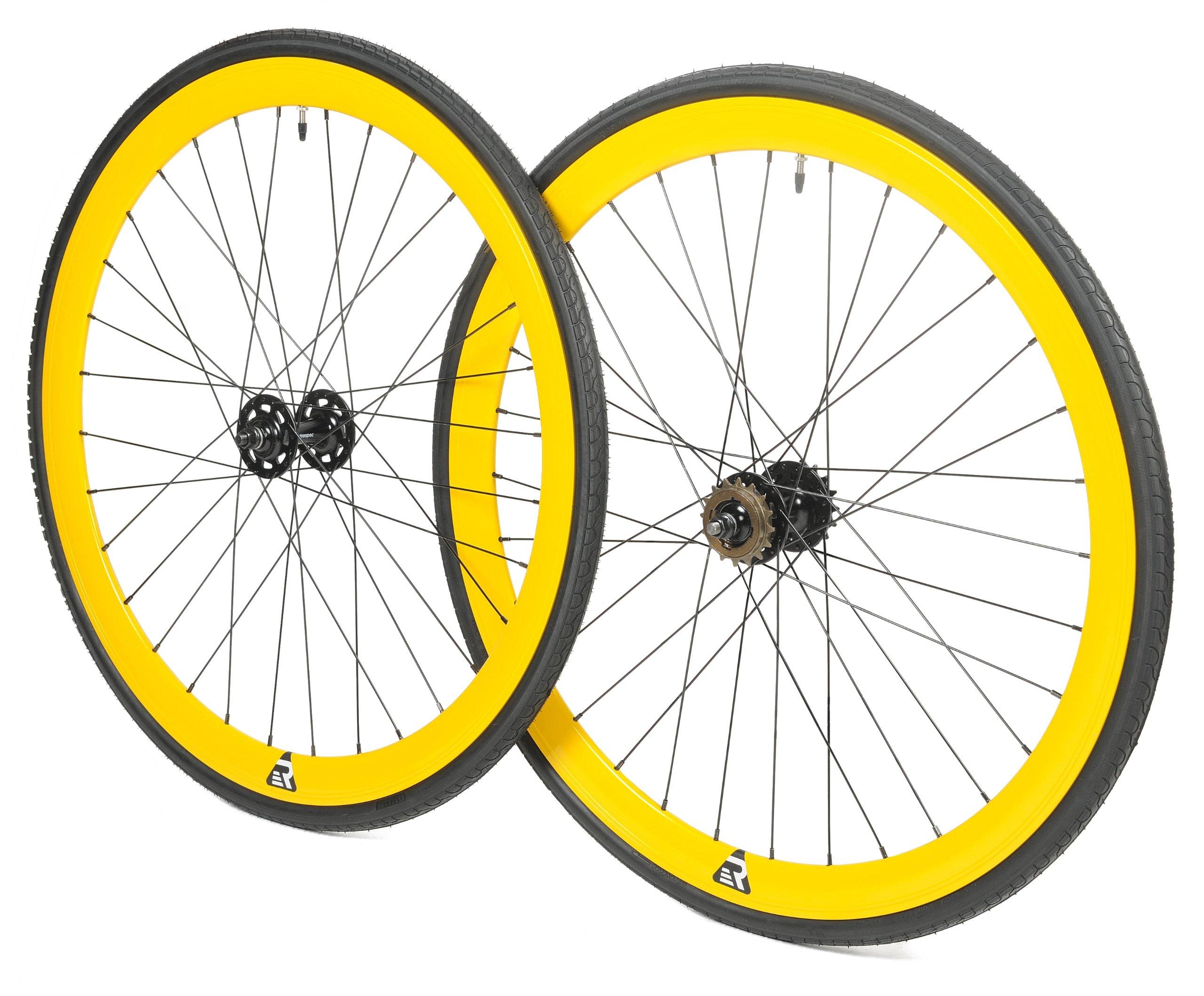 Retrospec Mantra 700c Deep V Fixed-Gear/Single-Speed Wheelset