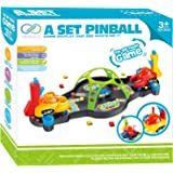 Board Games for Kids, PinSpace A Set Pinball Game Fun Puzzle Game Family Game for Children 3 Year and Up, 2018 New