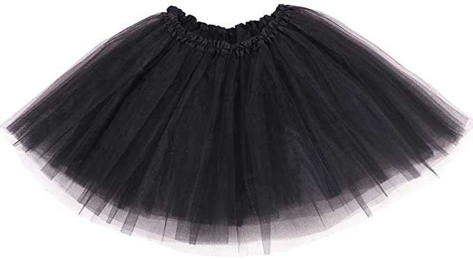 0bbd62b19a Amazon.com: Simplicity Women's Classic Elastic, 3-Layered Tulle Tutu ...