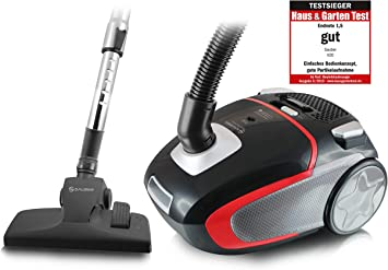 Sauber V20 aspirador, 2.5 litros, Negro, Rojo, Plata: Amazon.es: Hogar