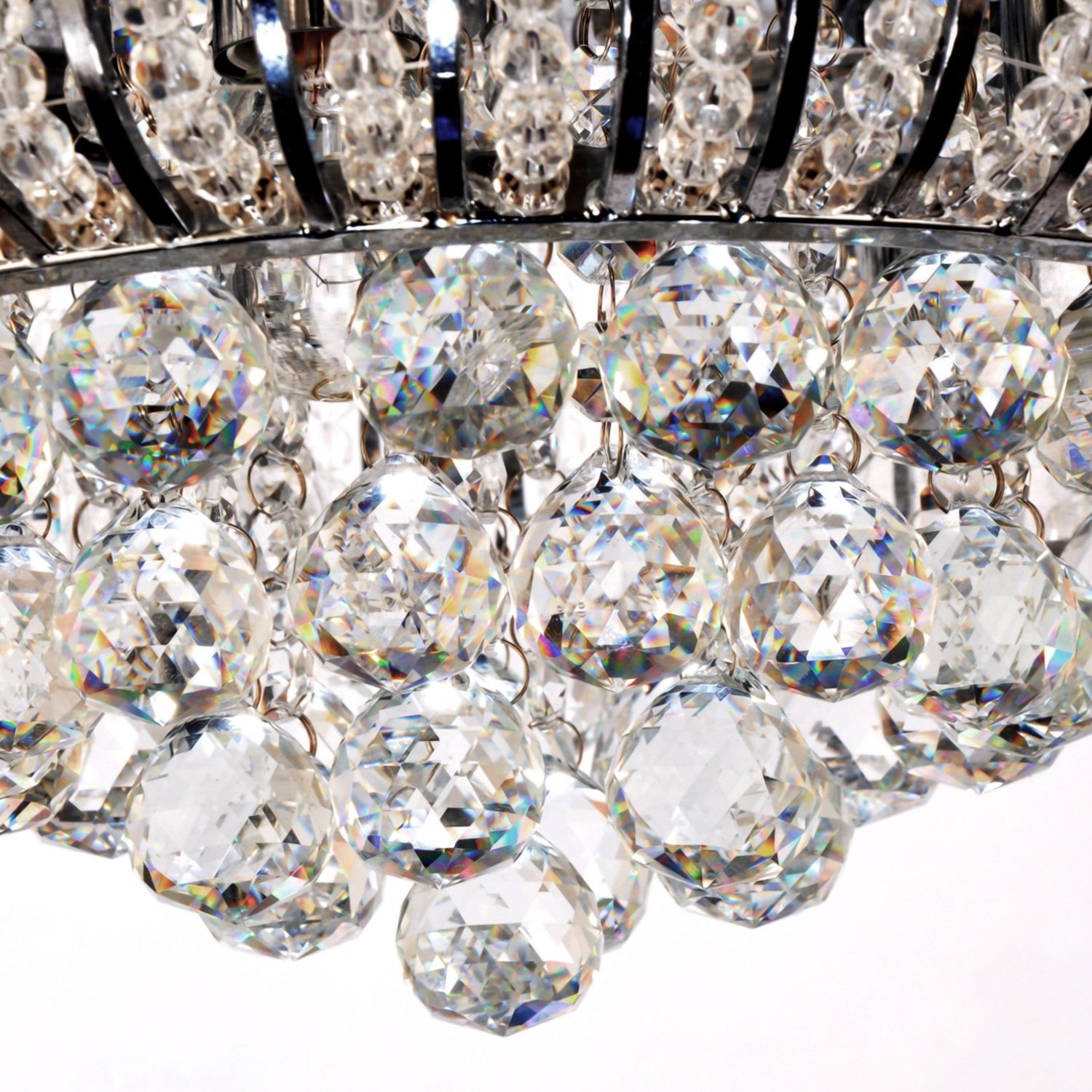 Oofay light simple and elegant crystal light 5 head crystal oofay light simple and elegant crystal light 5 head crystal ceiling light for living room modern bedroom crystal ceiling light amazon lighting arubaitofo Image collections