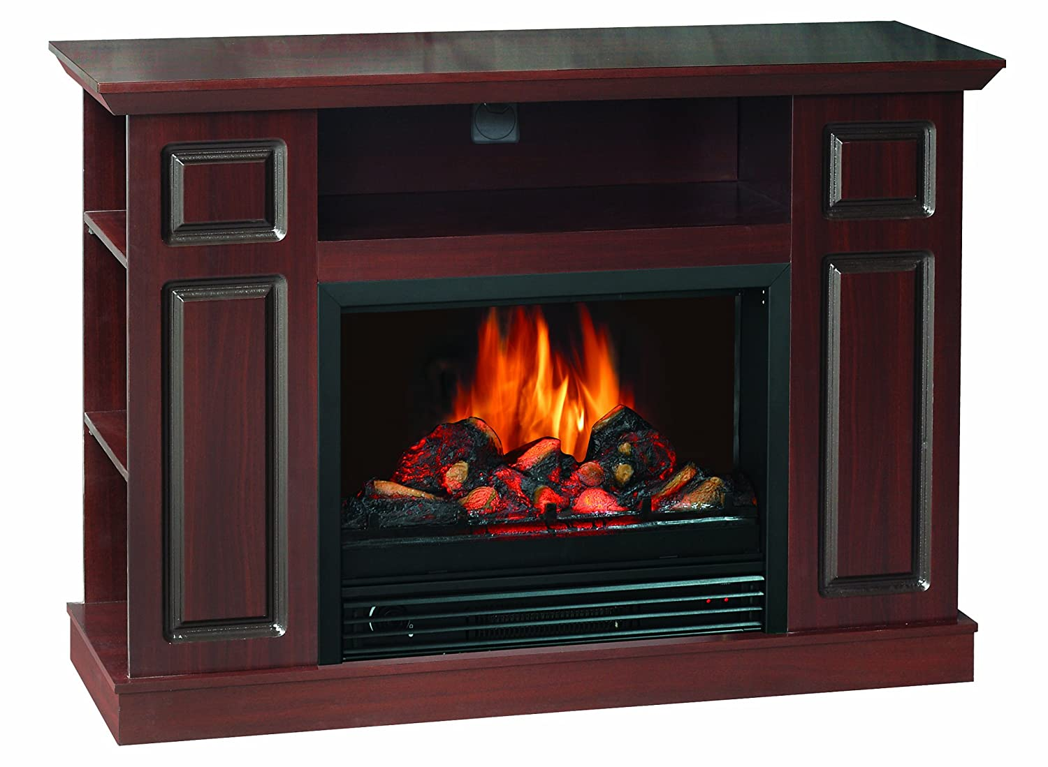 quality craft sylvania som220 46fdw electric fireplace heater with