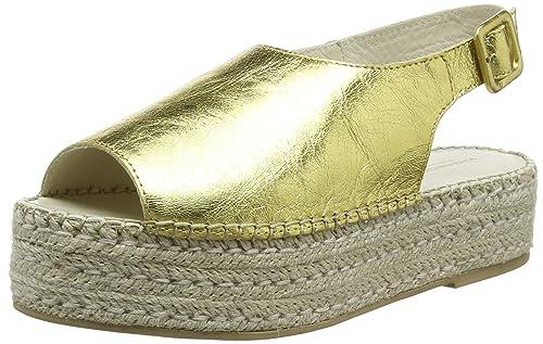 Celeste, Alpargatas para Mujer, Gold (Gold), 37 EU Vagabond