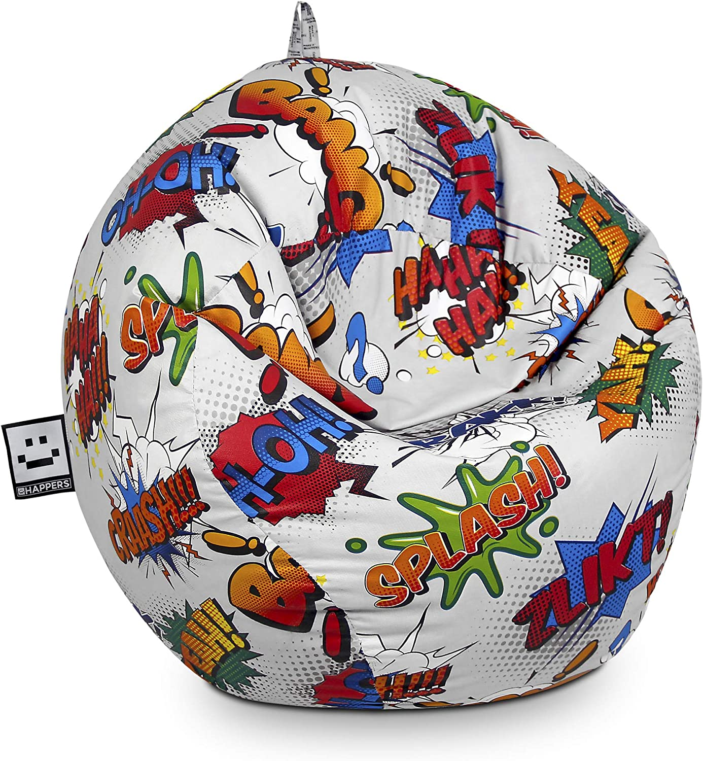 HAPPERS Puff Pelota Estampado Comic: Amazon.es: Hogar