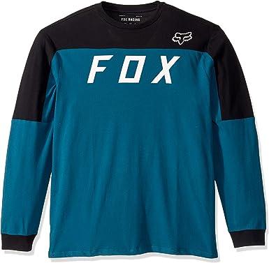 Fox Camiseta Manga Larga Grizzled Airline Maui Azul S (Small): Amazon.es: Ropa y accesorios