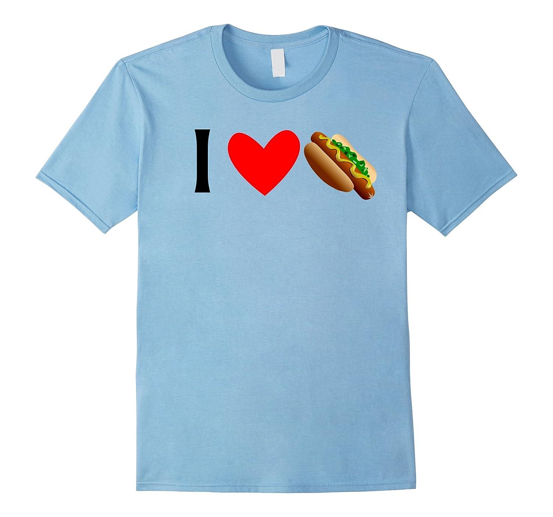 I Love Weiners Hotdog tshirt-Art