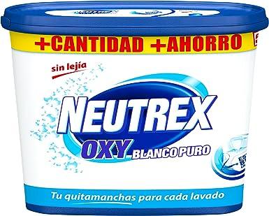 Neutrex Oxy Blanco Puro Quitamanchas sin Lejía - 512 g: Amazon.es: Alimentación y bebidas