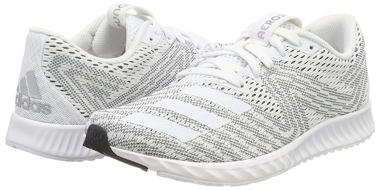 low priced 7042d 79994 adidas Womens Aerobounce Pr W Trail Running Shoes, White FtwblaNegbas  000, 3.5 UK Amazon.co.uk Shoes  Bags