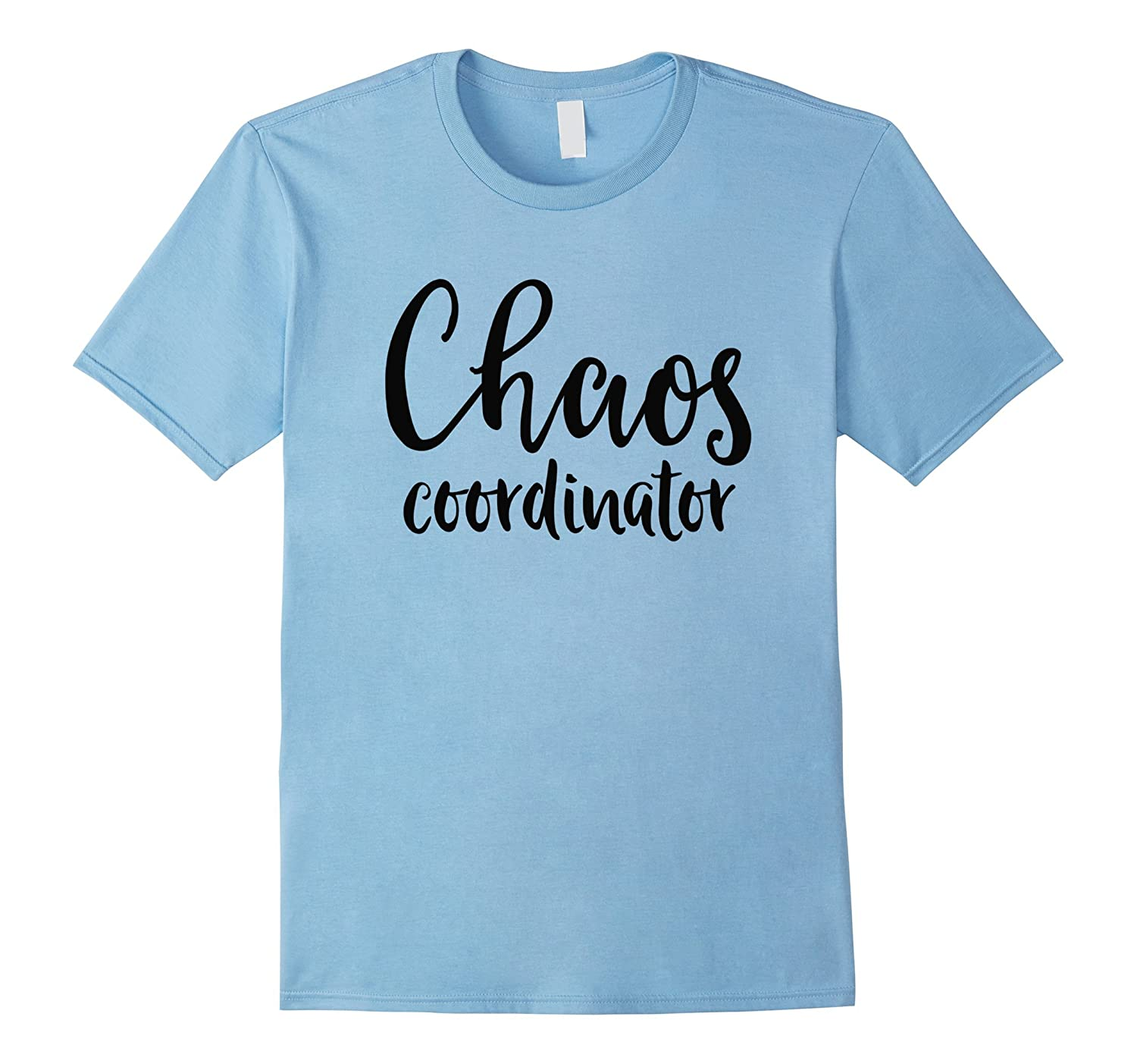 Chaos Coordinator Shirt White Light T-Shirt-Vaci