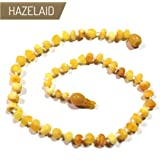 "Hazelaid (TM) 11"" Pop-Clasp Baltic Amber Super Butter Necklace"