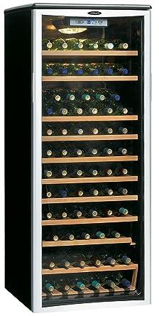 Danby DWC612BLP 75 Bottle Wine Cooler - Platinum