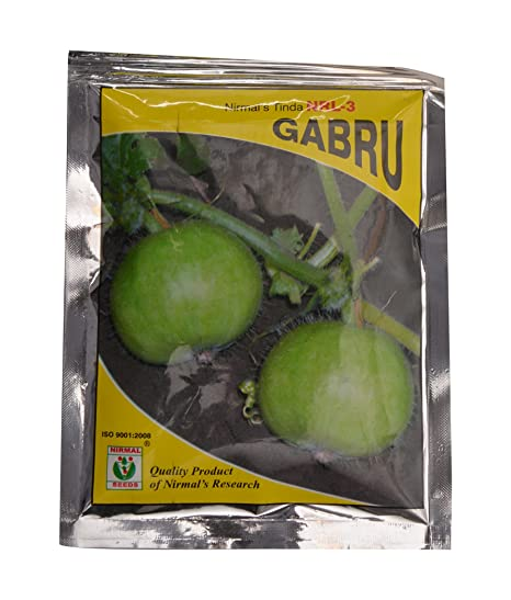 2f112922d851 Buy Nirmal Seeds Round Gourd (Tinda) Seed (Green) Online at Low Prices in  India - Amazon.in