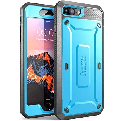 new concept e516f adeba SUPCASE Unicorn Beetle Pro Series Case Designed for iPhone 7 Plus, iPhone 8  Plus Case, with Built-in Screen Protector Full-Body Rugged Holster Case ...