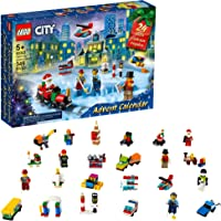 LEGO City Advent Calendar 60303 Building Kit; Includes City Play Mat; Best Christmas Toys for Kids; New 2021 (349 Pieces…