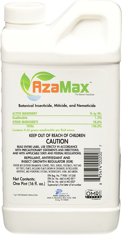 General Hydroponics Azamax GH2007 Antifeedant and Insect Growth Regulator
