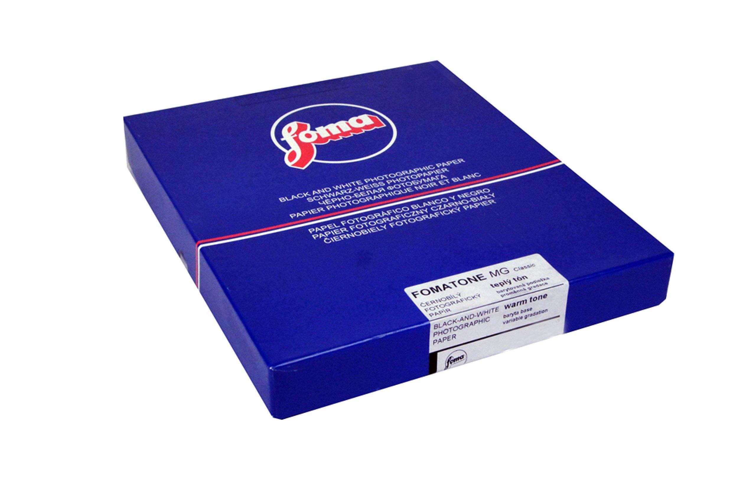 Foma Fomatone 131 VC FB Warmtone Glossy Black & White Photographic Paper, 8x10, 100 Sheets
