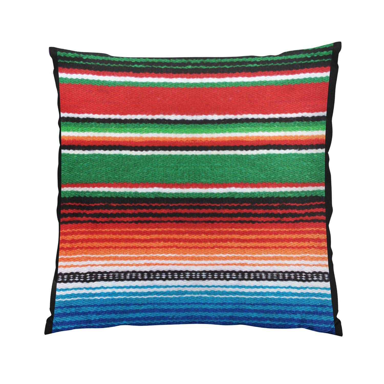 Wesbin メキシカン ホット 隠しファスナー ホームデコレーション 長方形 スロー枕カバー クッションカバー 20