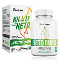 Pure Keto Diet Capsules + Apple Cider Vinegar - Max ACHV Advanced Weight Loss Formula W/Green Tea, Ketones, Kelp - Blend to Burn Fat, Support Ketosis, Boost Energy and Enhance Focus, 60 Cap