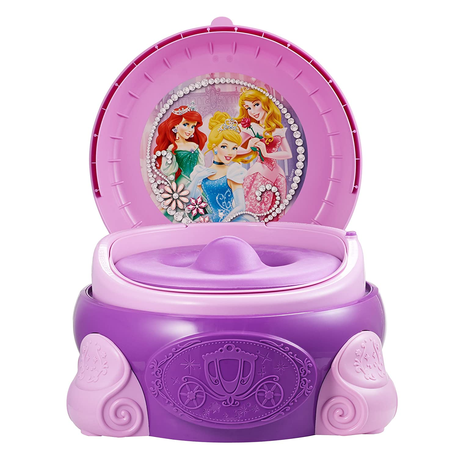 Amazon.com : The First Years Disney Princess Magic Sparkle 3 In 1 Potty  System : Toilet Training Potties : Baby