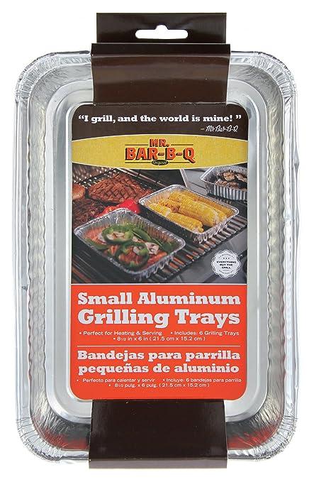 Mr Bar B Q 06692X Small Aluminum Grilling Pans