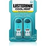 Listerine Pocketmist Cool Mint Oral Care Mist to Get Rid Of Bad Breath, 2 Pack (Pack of 6)