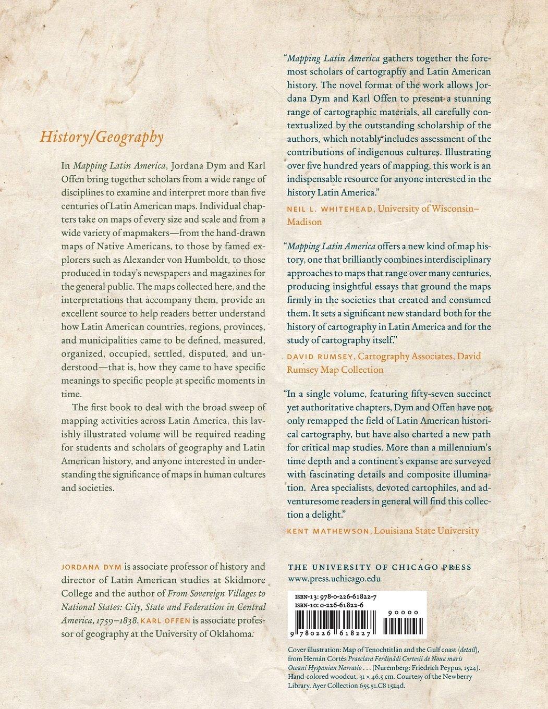 Amazon.com: Mapping Latin America: A Cartographic Reader (9780226618227):  Jordana Dym, Karl Offen: Books