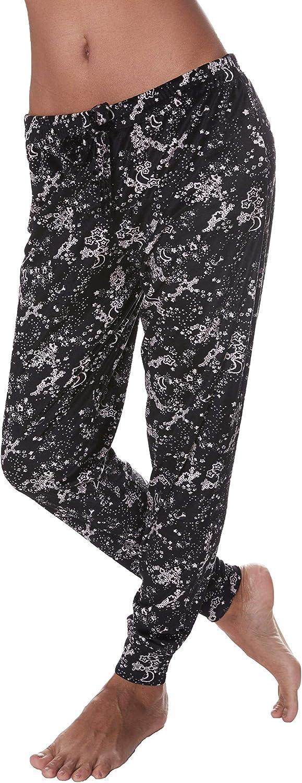 Nanette Lepore Womens Pajama Bottoms Skinny Leg and Cuffed Ankle PJ Lounge Pants