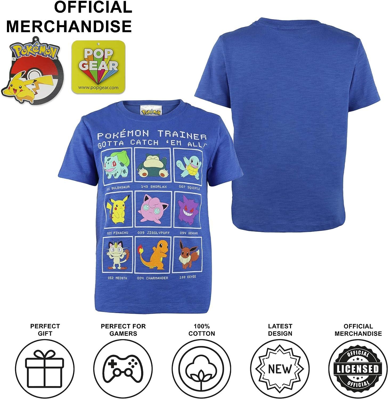 Pokemon Trainer Ragazze T-Shirt/ Merchandise Ufficiale