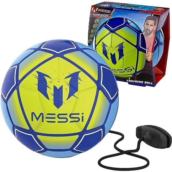 PiĹka treningowa niebiesko - ĹzĂlĹta Messi: Amazon.es: Juguetes y ...