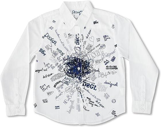 Desigual Camisa Niño Minisopa Blanco 11-12 años (146/152 cm ...