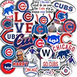 Chicago Decal Cubs Vinyl Set of 31 2' Colorful Waterproof for Laptop Sticker
