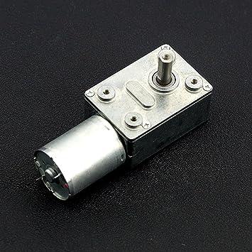 angelelec DIY Open Sources Sensors, Turbo metal gear Worm Motor (12 V 160RPM 2.2