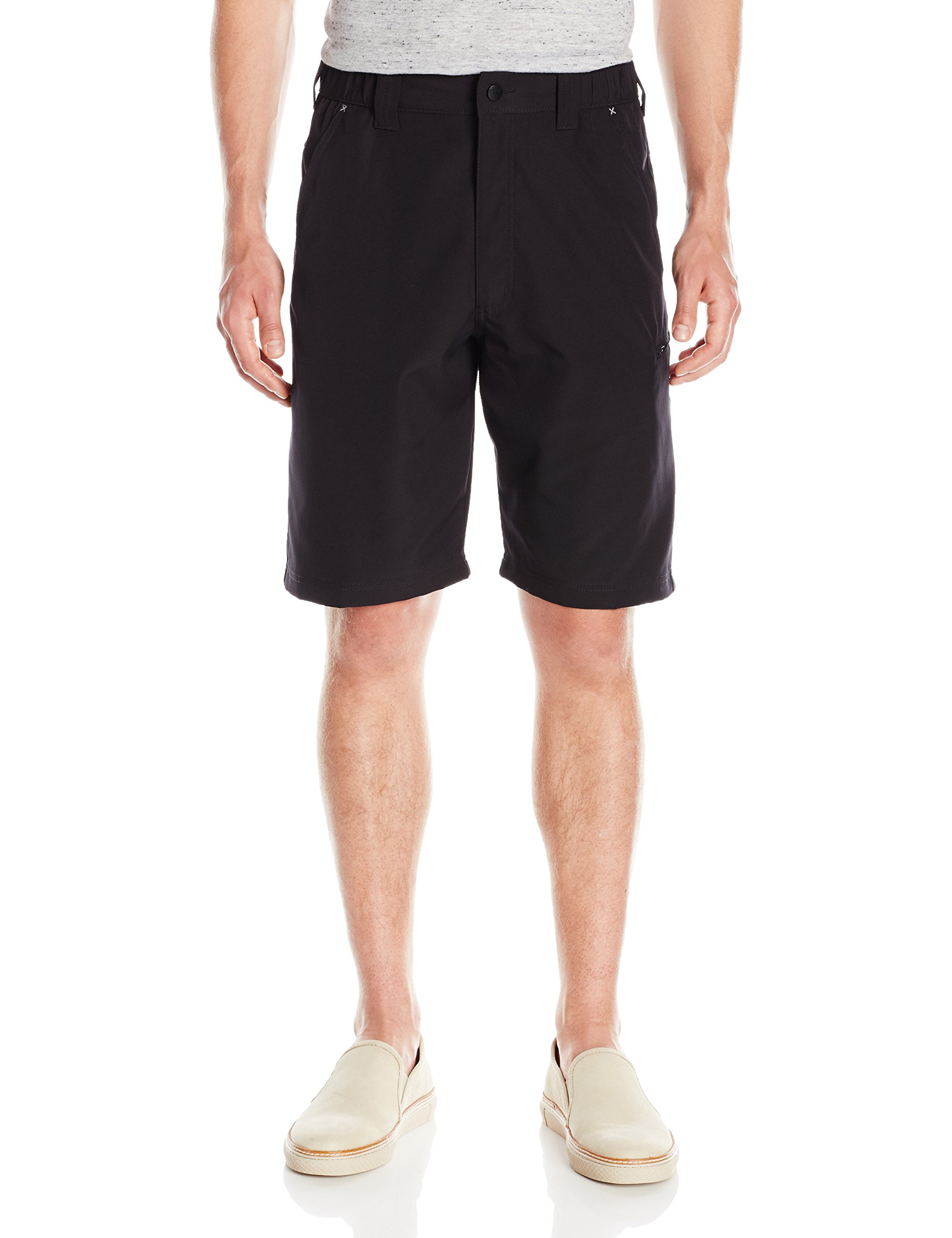 e61ae8a2c8 ... Clothing / Shorts / Cargo. Wrangler Authentics Men's Side Elastic  Utility Short, Black, 32