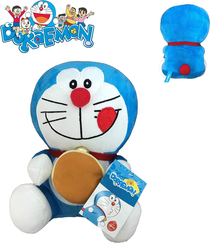 Doraemon. Peluche 25cm Merienda: Amazon.es: Juguetes y juegos