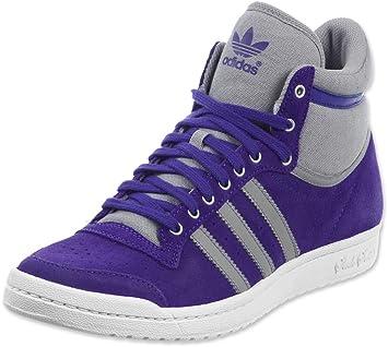 online store 93141 9cc91 Adidas Originals Top Ten Hi Sleek Purple G95447 purple Size 5