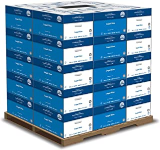 product image for Hammermill Printer Paper, 20 lb Copy Paper, 8.5 x 14-1 Pallet, 30 Cases (150,000 Sheets) - 92 Bright, Made in the USA