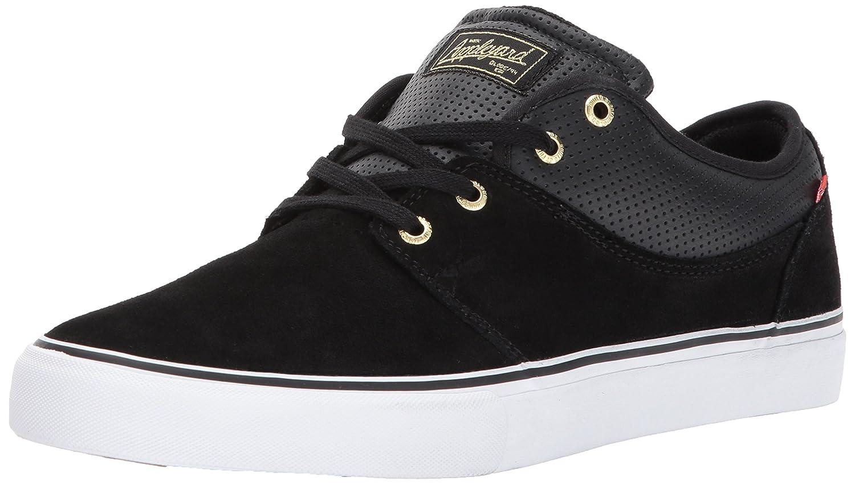Globe Men's Mahalo Skate Shoe 10.5 D(M) US|Black/Gold