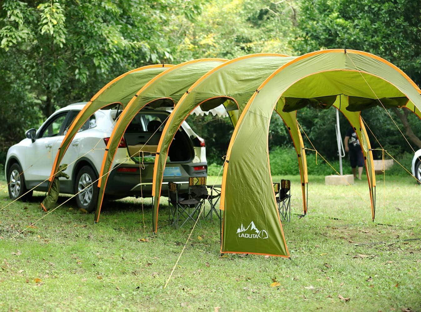 NANDAN Toldo Coche, Carpa Camping al Aire Libre SUV de Coches ...