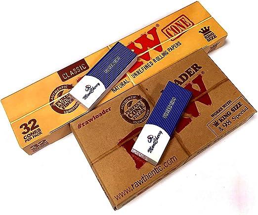 1 bandeja de cono de Raw Y 1 Raw Classic Mega Pack de 32 tamaño ...