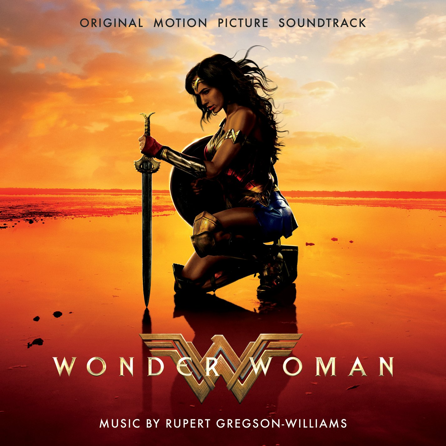 News Wonder Woman Soundtrack Cover Pre Order Dc Cinematic