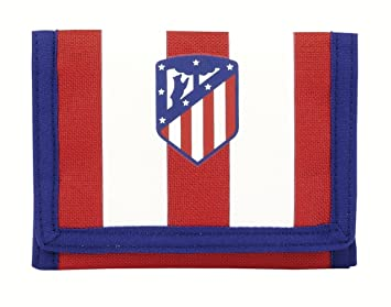 Safta Cartera Billetera Oficial Atlético De Madrid 125x95mm: Amazon.es: Equipaje