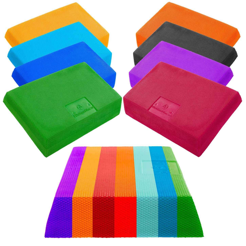 Plataforma de equilibrio 2 »Trapezio« / Superficie de equilibrio en forma de trapecio, plataforma de coordinación / disponible en 3 colores