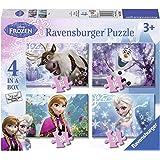 Ravensburger - 07360 - Puzzle - 4 En 1 - La Reine Des Neiges - 12 Pièces