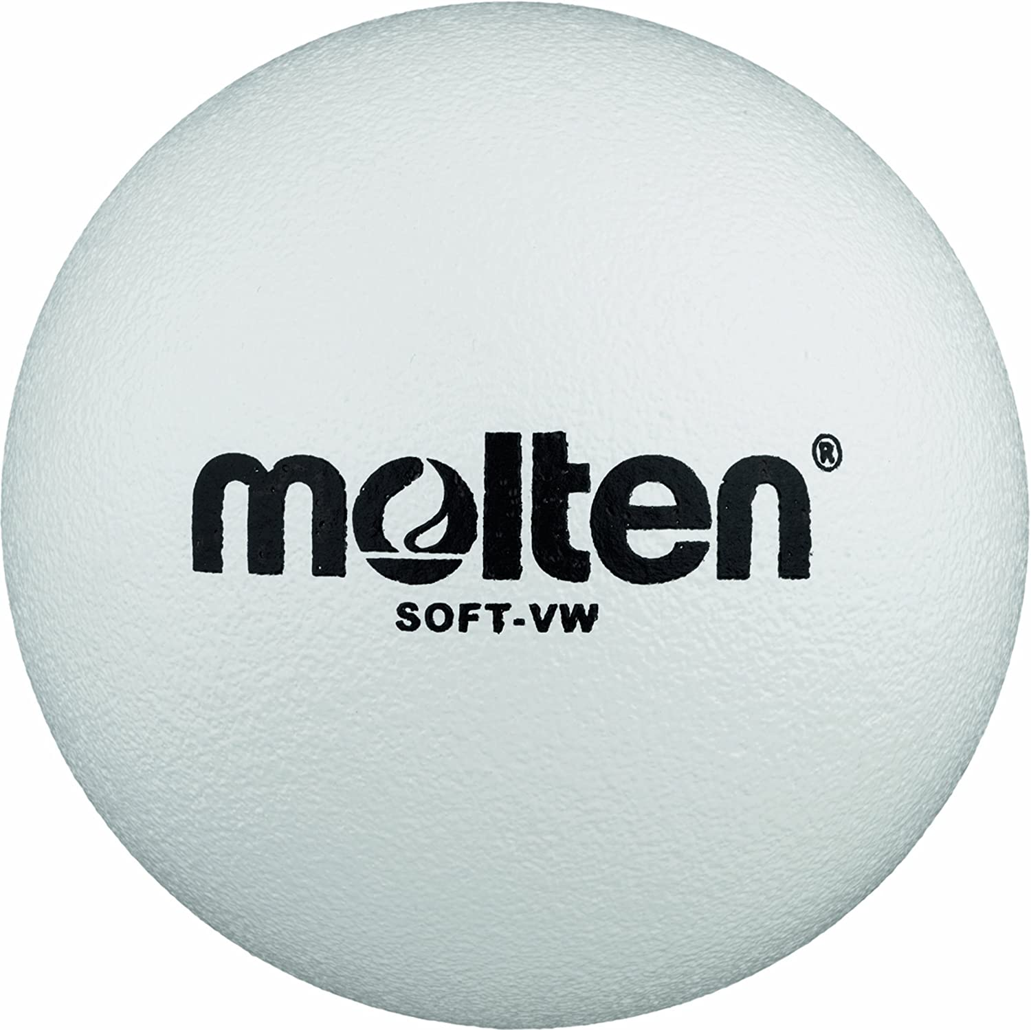 Molten Soft-VW Ballon mousse volley-ball Blanc Ø 210 mm
