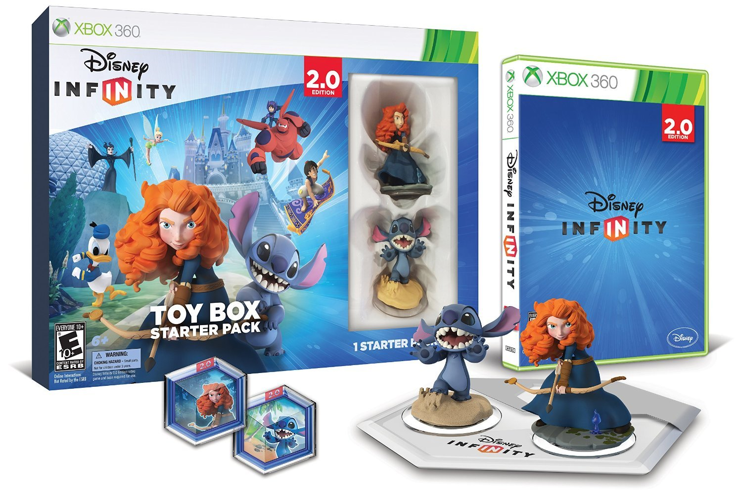 infinity xbox 360. disney infinity 2.0 marvel super heroes starter pack for xbox 360 - standard edition: amazon.ca: computer and video games